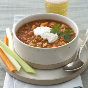 Healthy recipe from joy bauers food cures buffalo chicken chili recipebuffalo chicken chili forumfinder Image collections