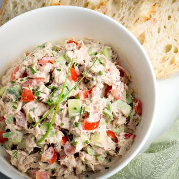 Tuna Salad Recipe With Vegetables