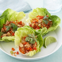 Healthy Recipe From Joy Bauer's Food Cures Chicken Lettuce Wraps