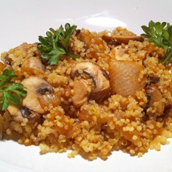 Healthy Recipe From Joy Bauer's Food Cures Quinoa Onions and