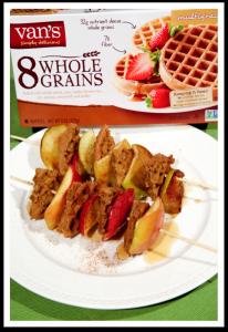 waffle skewers