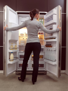 woman-looking-in-fridge