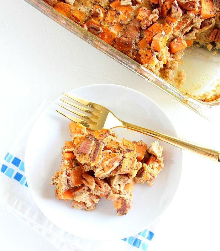 Pumpkin Pie French Toast Bake - Joy Bauer